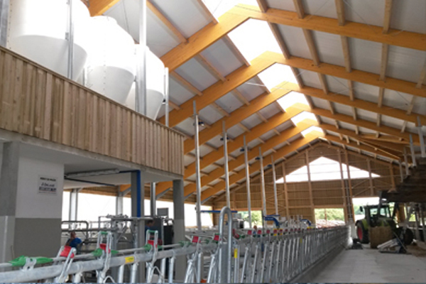 Lesene konstrukcije za hleve